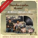 César Menotti & Fabiano – CD Memórias Anos 80 e 90