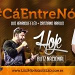 """Luiz Henrique & Léo com Cristiano Araújo em """"Cá entre nós""""!"""