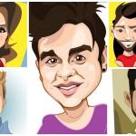 Cartunista cria desenhos de artistas sertanejos