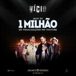 """João Neto & Frederico comemoram sucesso da música """"Vício"""" com Jads & Jadson"""