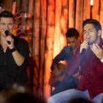 Hugo & Guilherme vibram sucesso da gravação do primeiro DVD