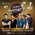 Luan Santana, Fernando & Sorocaba e Gusttavo Lima no Festival Sertanejo de Sete Lagoas