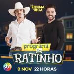 Fiduma & Jeca e Humberto & Ronaldo agitam o Boteco do Ratinho desta quarta-feira (09)