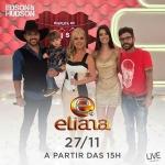 Edson & Hudson e George Henrique & Rodrigo no Eliana deste domingo (27)