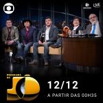 Bruno & Marrone e Chitãozinho & Xororó no Programa do Jô desta segunda-feira (12)