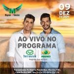 Programa Dia Dia Rural recebe a dupla Maycon & Vinicius nesta sexta-feira (09)