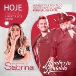 Humberto & Ronaldo cantam no Programa da Sabrina deste sábado (24)