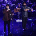 """César Menotti & Fabiano gravam o DVD """"Memórias"""" em São Paulo"""