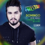Luan Santana e Sandy cantam juntos no Domingão do Faustão deste domingo (22)