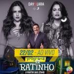 Day & Lara e Guilherme & Santiago no Programa do Ratinho desta quarta-feira (22)