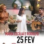 Maria Cecília & Rodolfo e Edson & Hudson no Programa da Sabrina deste sábado (25)