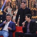 """Eduardo Costa e Leonardo apresentam o """"Cabaré"""" no Sabadão com Celso Portiolli"""