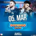 Zé Neto & Cristiano marcam a presença no Domingo Show deste final de semana