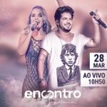 Thaeme & Thiago no Encontro com Fátima Bernardes desta terça-feira (28)