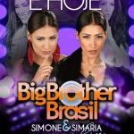 Simone & Simaria é atração da festa do Big Brother Brasil desta sexta-feira (3)