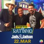 Jads & Jadson e Di Paullo & Paulino no Programa do Ratinho desta quarta-feira (22)