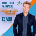 Michel Teló agita a final do Big Brother Brasil nesta quinta-feira (13)
