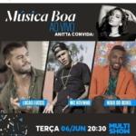 Lucas Lucco no Música Boa Ao Vivo desta terça-feira (06)