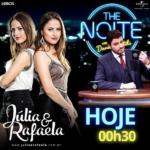 Júlia & Rafaela no The Noite Com Danilo Gentili desta sexta-feira (28)