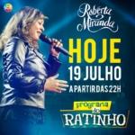 Roberta Miranda agita o Programa do Ratinho desta quarta-feira (19)