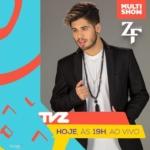 Zé Felipe apresenta o TVZ desta segunda-feira (24)