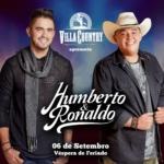 Humberto & Ronaldo voltam ao Villa Country em Setembro