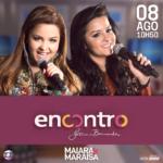 Maiara & Maraisa no Encontro com Fátima Bernardes desta terça-feira (08)