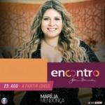 Marília Mendonça e Wesley Safadão no Encontro com Fátima Bernardes desta quarta-feira (23)