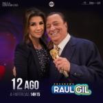 Paula Fernandes e Daniel no Programa Raul Gil deste sábado (12)