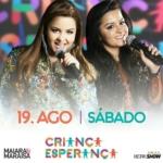 Maiara & Maraisa, Simone & Simaria e Luan Santana no Criança Esperança deste sábado (19)