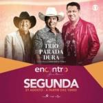 Trio Parada Dura no Encontro com Fátima Bernardes desta segunda-feira (21)