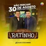 Alex & Guilherme, Mayck & Lyan e Cézar & Paulinho no Ratinho desta quarta-feira (30)