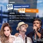 Wanessa Camargo e Victor & Leo são as atrações do Viva Mais Música em Poços de Caldas