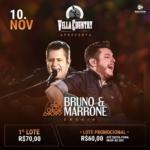 Bruno & Marrone agitam o Villa Country no mês de Novembro