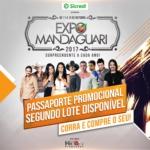 Hiran Produções anuncia as atrações da ExpoMandaguari 2017