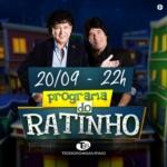 Teodoro & Sampaio e Zé Felipe no Programa do Ratinho desta quarta-feira (20)
