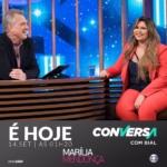 Marília Mendonça no Conversa com Bial desta quinta-feira (14)