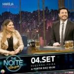 Marília Mendonça no The Noite com Danilo Gentili desta segunda-feira (04)