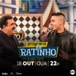 Felipe Araújo e Juliano Cezar no Programa do Ratinho desta quarta-feira (18)