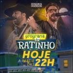 """Edson & Hudson e Paula Mattos agitam o """"Boteco do Ratinho"""" desta quarta-feira (22)"""