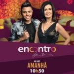 Felipe Araújo no Encontro com Fátima Bernardes desta quinta-feira (14)