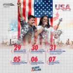 Relber & Allan fecham 2017 e abrem 2018 em turnê pelos EUA