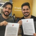 Sandro & Cícero assinam contrato com a gravadora Sony Music