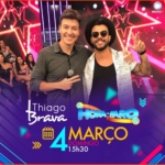 Thiago Brava agita o Hora do Faro deste domingo (04)