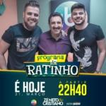 Zé Neto & Cristiano, Thiago Brava e Lourenço & Lourival no Ratinho desta quarta-feira (21)