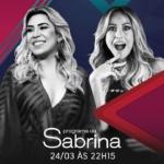 Naiara Azevedo, Thiago Brava e Amado Batista no Programa da Sabrina deste sábado (24)