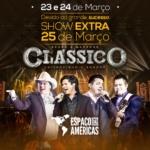"""Chitãozinho & Xororó e Bruno & Marrone apresentam a turnê """"Clássico"""""""
