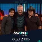 Chitãozinho & Xororó no Conversa com Bial desta sexta-feira (20)
