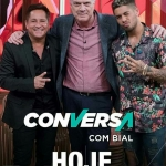 Leonardo e Zé Felipe no Conversa com Bial desta terça-feira (24)