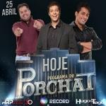 Hugo & Tiago no Programa do Porchat desta quarta-feira (25)